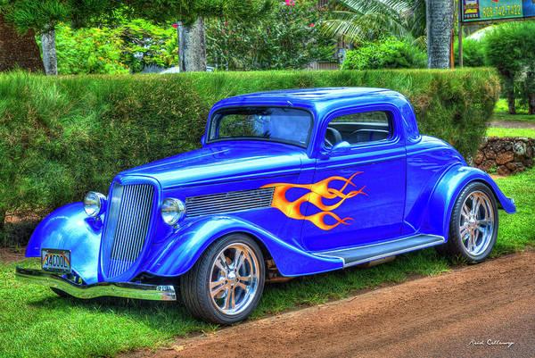 Wall Art - Photograph - 1934 Ford Coupe Kauai Cool Cars 2 Kauai Hawaii Art by Reid Callaway