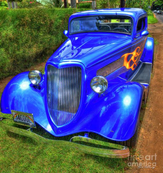 Wall Art - Photograph - 1934 Ford Coupe Kauai Cool Cars Kauai Hawaii Art by Reid Callaway