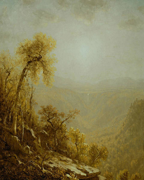 Painting - Kauterskill Clove, Catskill Mountains by Sanford Robinson Gifford