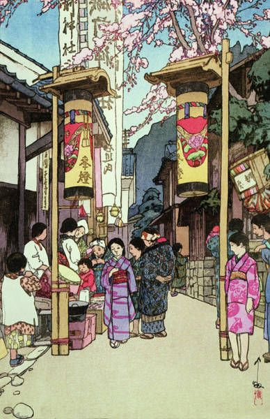 Wall Art - Painting - Kawano Festival - Digital Remastered Edition by Yoshida Hiroshi