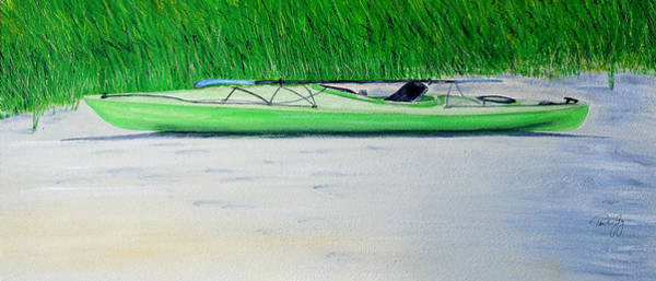 Painting - Kayak Essex River by Paul Gaj