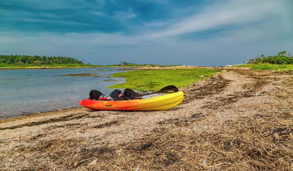 Goat Rocks Wall Art - Photograph - Kayaking Adventure In Maine by Betsy Knapp