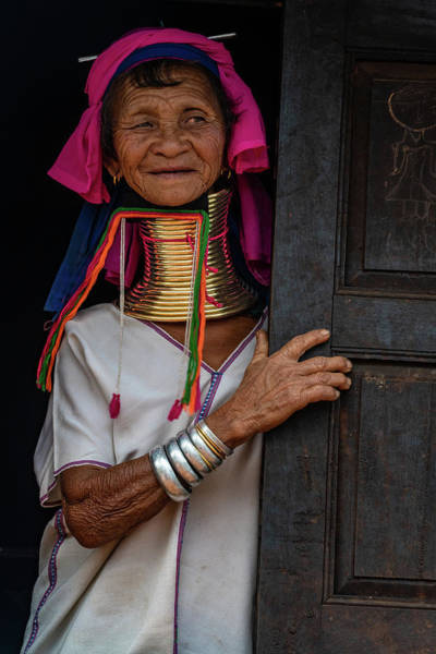 Photograph - Kayan Lahwi Long Necked Lady by Chris Lord