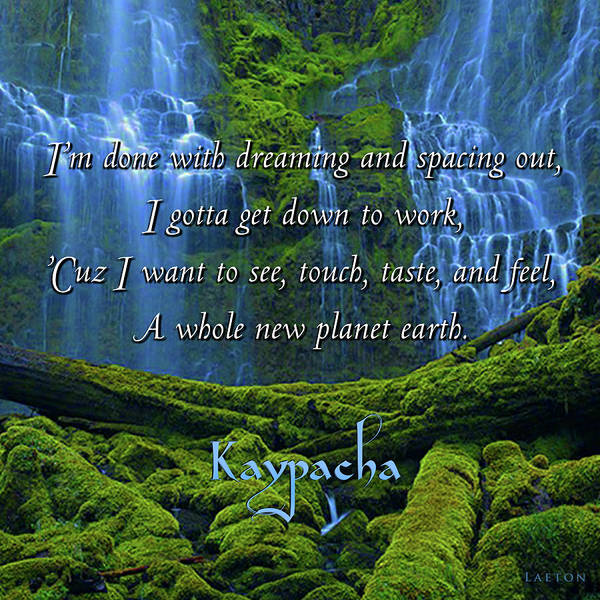 Digital Art - Kaypacha - April 17, 2019 by Richard Laeton