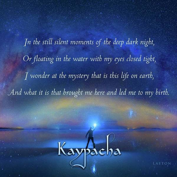 Digital Art - Kaypacha - March 6, 2019 by Richard Laeton