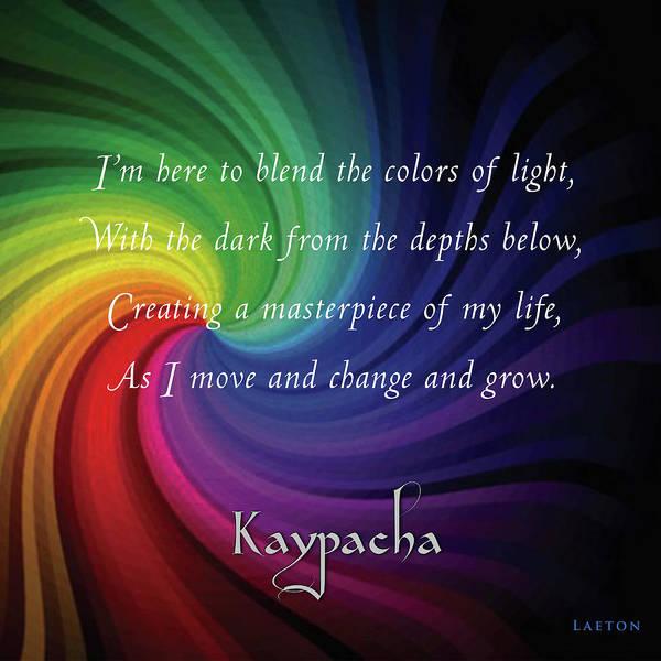 Digital Art - Kaypacha-may 29, 2019 by Richard Laeton