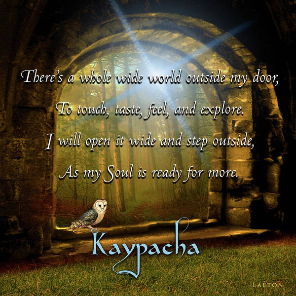 Digital Art - Kaypacha - November 21, 2018 by Richard Laeton