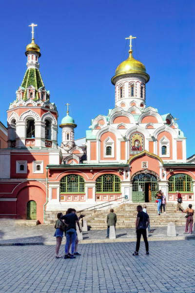 Photograph - Kazan Cathedral by Kay Brewer