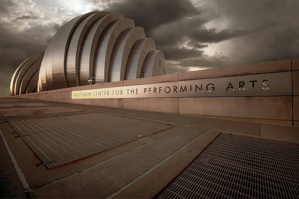 Photograph - Kc Kauffman Center - Vintage by Gregory Ballos
