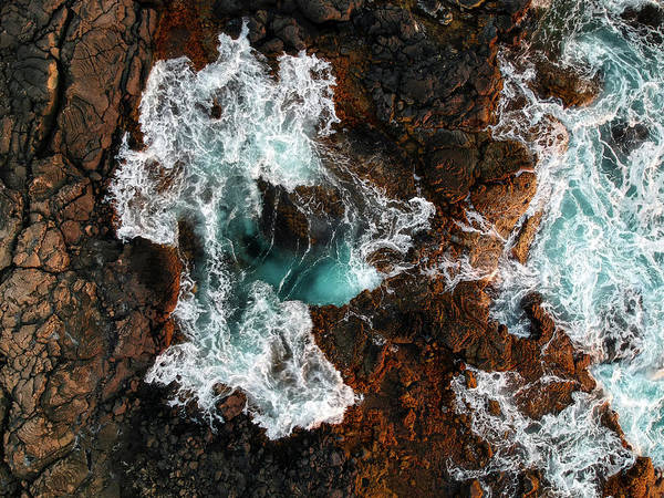 Photograph - Keahole Aerial by Christopher Johnson