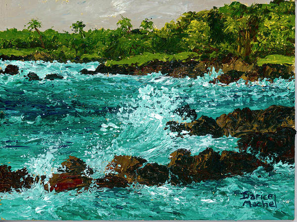 Painting - Keanae Peninsula by Darice Machel McGuire
