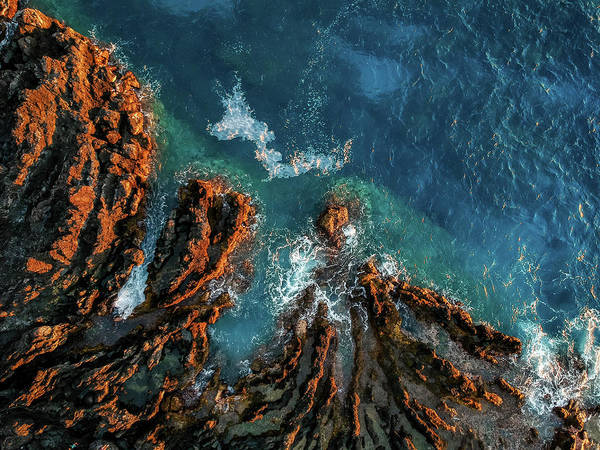 Photograph - Keauhou Blues And Reds by Christopher Johnson