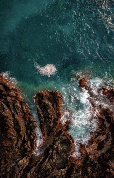 Photograph - Keauhou Coastline by Christopher Johnson
