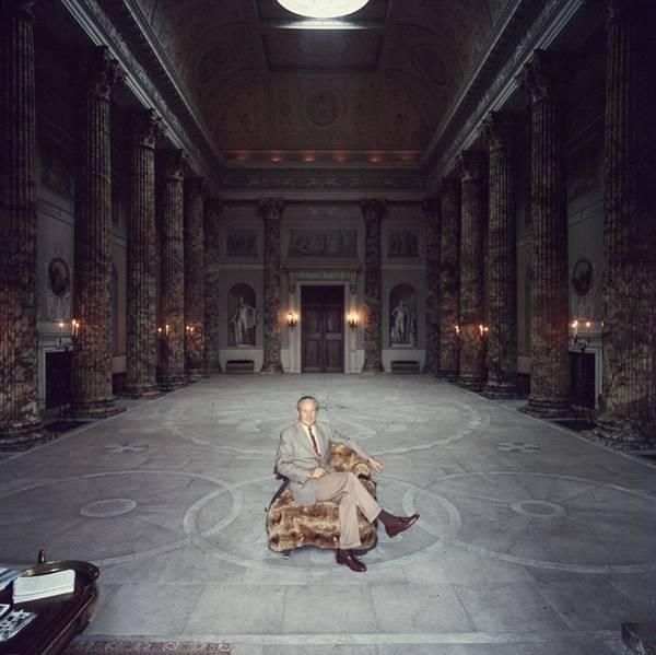 Furniture Photograph - Kedleston Hall by Slim Aarons