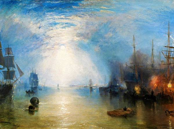 Wall Art - Painting - Keelmen Heaving In Coals By Moonlight - Digital Remastered Edition by William Turner