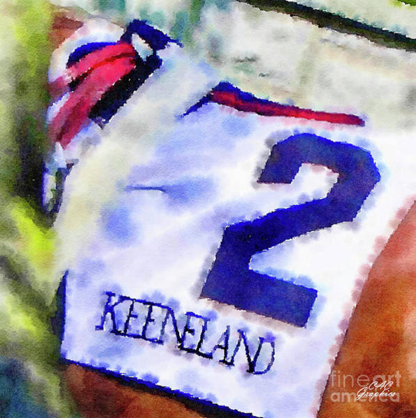 Painting - Keeneland #2 by CAC Graphics