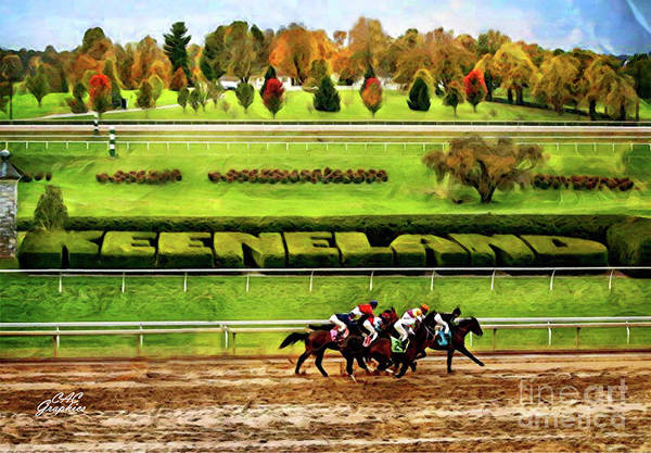 Digital Art - Keeneland by CAC Graphics