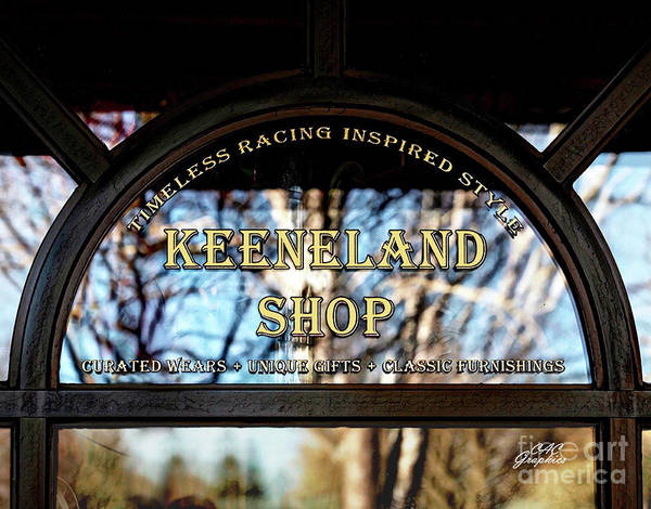 Photograph - Keeneland Shop by CAC Graphics
