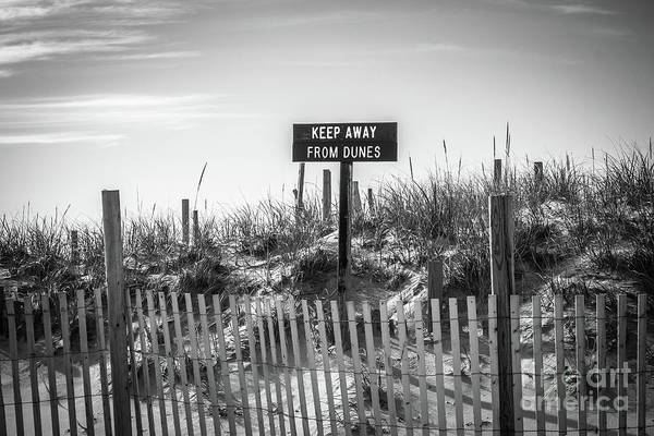 Wall Art - Photograph - Keep Away From Dunes by Colleen Kammerer
