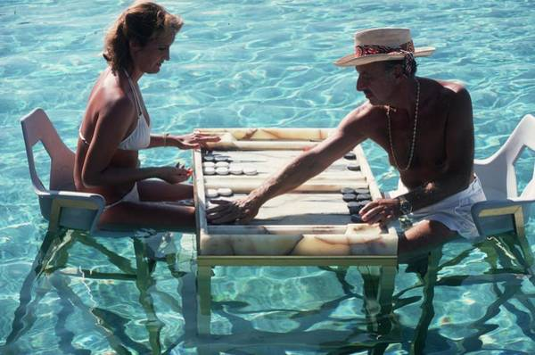 Swimming Photograph - Keep Your Cool by Slim Aarons
