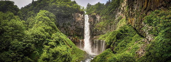 Wall Art - Photograph - Kegon Falls by William Chizek