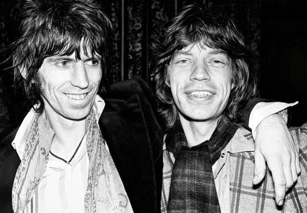 Wall Art - Photograph - Keith And Mick 1977 by Daniel Hagerman