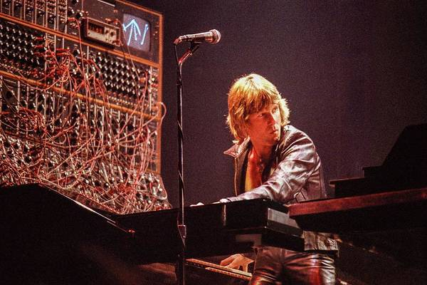 Player Piano Photograph - Keith Emerson by Alfred Dominic Ligammari II
