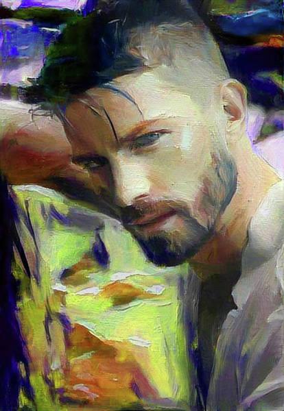 Digital Art - Kelly by Richard Laeton