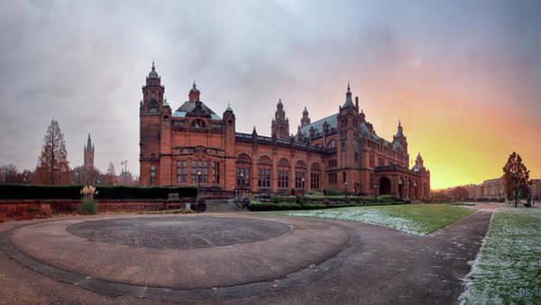 Photograph - Kelvingrove Art Gallery And Museum Sunrise by Grant Glendinning