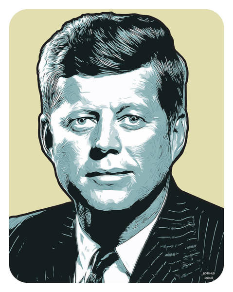 Political Wall Art - Digital Art - Kennedy 31oct18 by Greg Joens