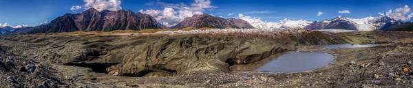 Wall Art - Photograph - Kennicott Glacier Panorama, Alaska by N P S  Jacob W Frank