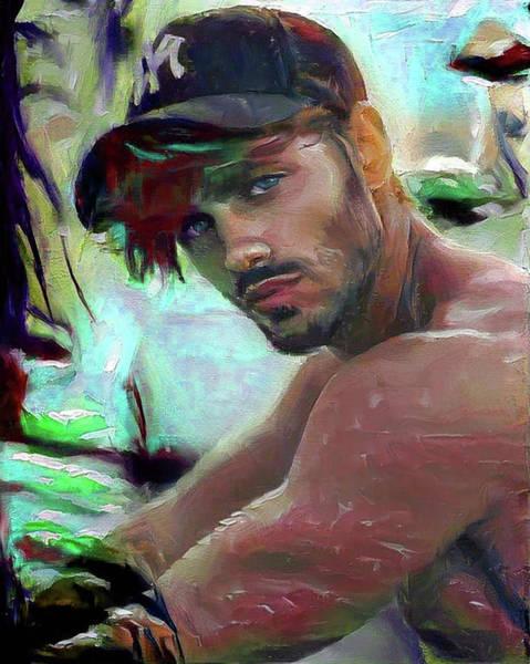 Digital Art - Kenny by Richard Laeton