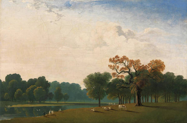 Painting - Kensington Gardens II  by John Martin