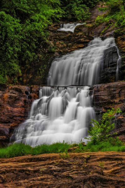 Photograph - Kent Falls State Park Ct  by Susan Candelario