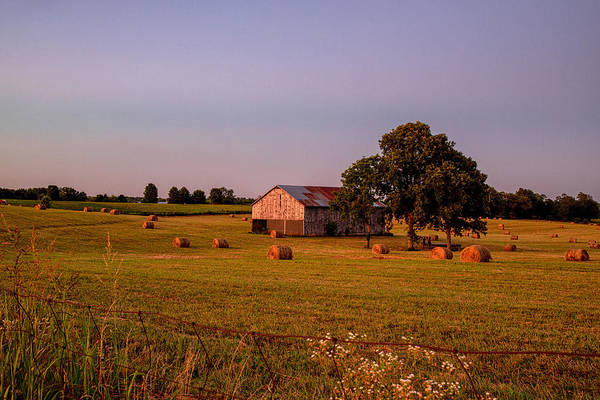 Wall Art - Photograph - Kentucky Blue Hour by Rod Best