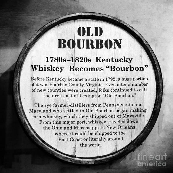 Photograph - Kentucky Bourbon History by Mel Steinhauer