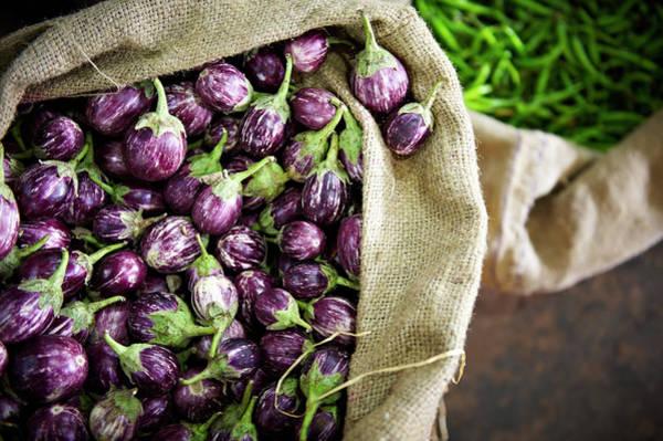 Retail Photograph - Kerelan Eggplant by Matthew Leete