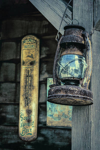 Wall Art - Photograph - Kerosene Lantern by Mike Burgquist