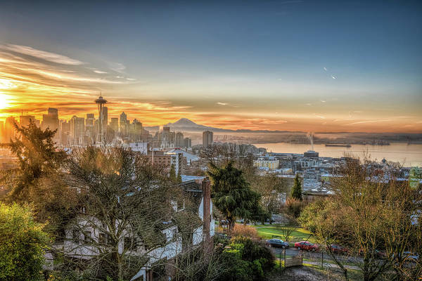 Wall Art - Photograph - Kerry Park Sunrise by Spencer McDonald