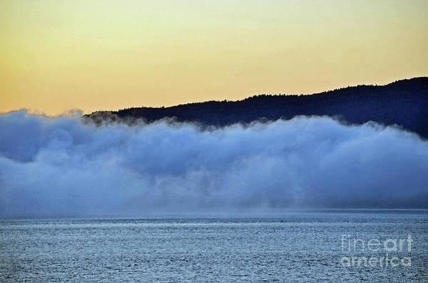 Wall Art - Digital Art - Ketchikan Alaska Fog by Eva Kaufman
