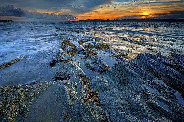 Photograph - Kettle Cove Evening by Rick Berk