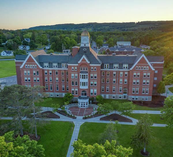 Photograph - Keuka College 2019 by Ants Drone Photography