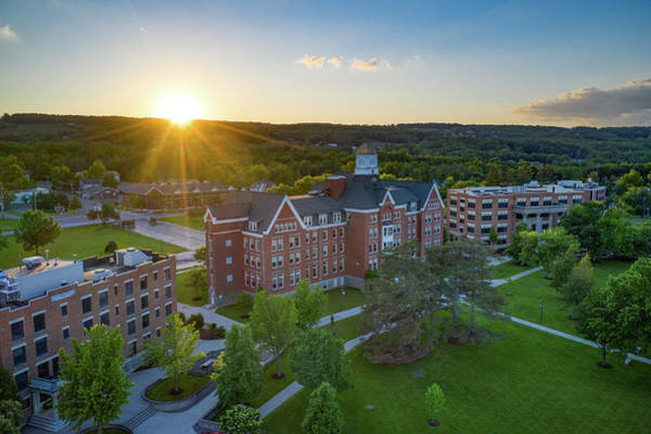 Photograph - Keuka College June 2019 by Ants Drone Photography