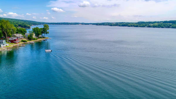 Photograph - Keuka Days by Ants Drone Photography