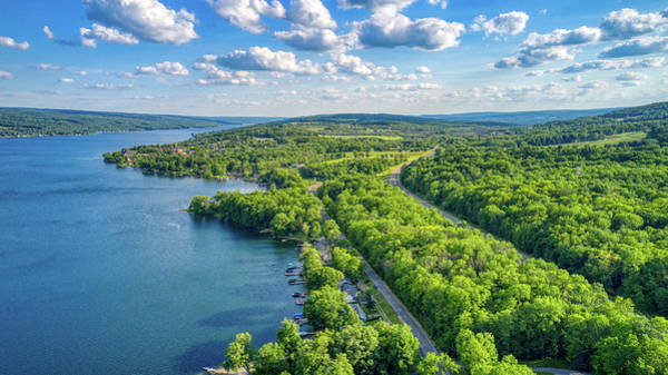 Photograph - Keuka Lake Scenic Views  by Ants Drone Photography