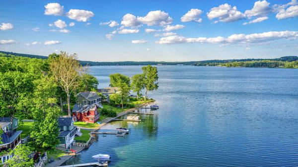 Photograph - Keuka Lake Summer 2019 by Ants Drone Photography