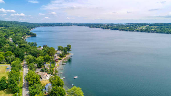 Photograph - Keuka Views by Ants Drone Photography