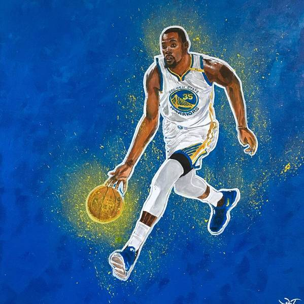 Painting - Kevin Durant by Joel Tesch