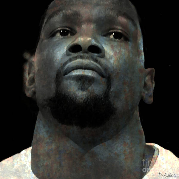 Digital Art - Kevin Durant by Walter Neal