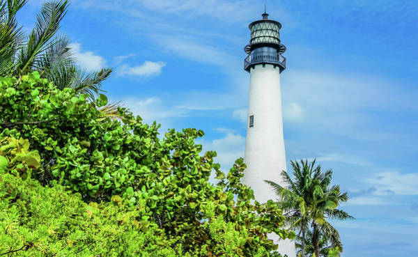 Photograph -  Key Biscayne Lighthouse 1 by Dawn Richards